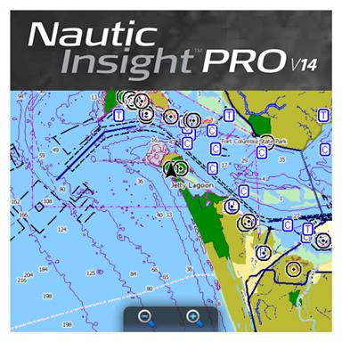 Lowrance® Nautic Insight Pro 2014 Map Card