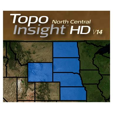 Lowrance® Topo Insight HD North Central 2014 Map Card