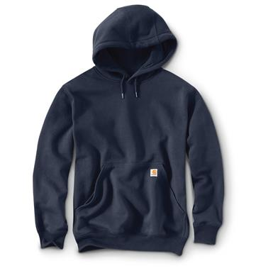 Carhartt Rain Defender Paxton Heavyweight Hooded Sweatshirt, New Navy