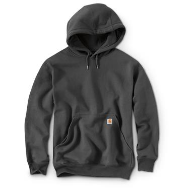 Carhartt Rain Defender Paxton Heavyweight Hooded Sweatshirt, Carbon Heather