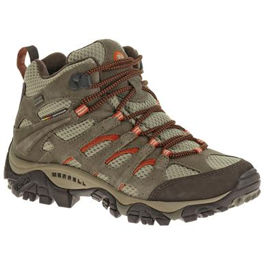 Women's Merrell® Moab Waterproof Hiking Boots, Bungee Cord