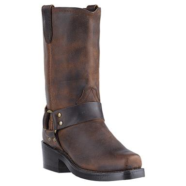 Women's Dingo Molly Harness Boots, Brown