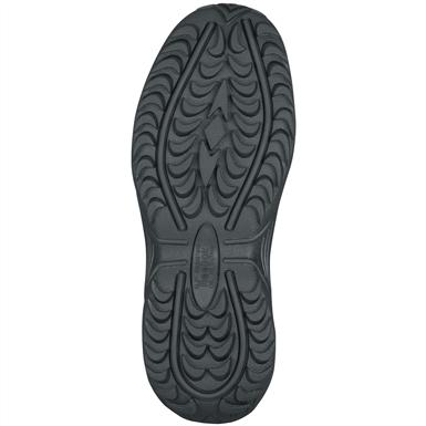 Dual-density rubber outsole with Mountain Trail traction