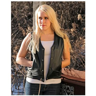 Women's Ribbed Vest by Milwaukee Motorcycle Clothing Company®