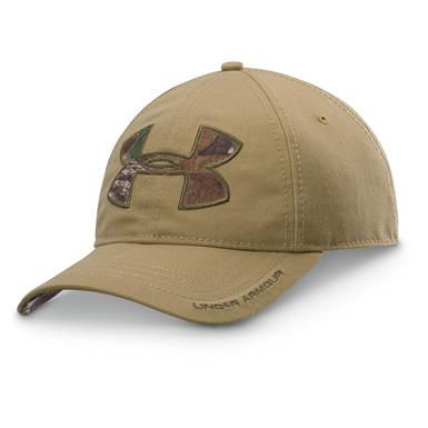 Under Armour Caliber Cap, Deer Hide