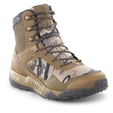 Under Armour Men's Valsetz Tactical RTS Tactical Boots, Reaper Camo/Uniform