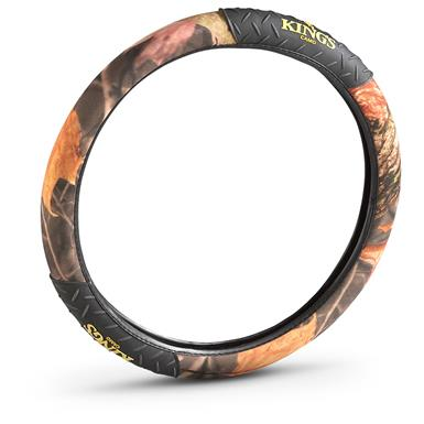 King's Camo® Steering Wheel Cover, King's® Woodland Shadow