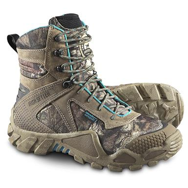 Irish Setter Women's VaprTrek Insulated Waterproof Boots, 400 Grams, Mossy Oak Break-Up Infinity, Mossy Oak® Break-Up Infinity®