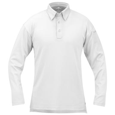 Men's Propper™ I.C.E.™ Long-sleeved Performance Polo Shirt, White