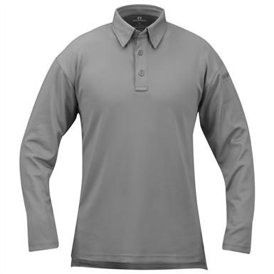 Men's Propper™ I.C.E.™ Long-sleeved Performance Polo Shirt, Grey