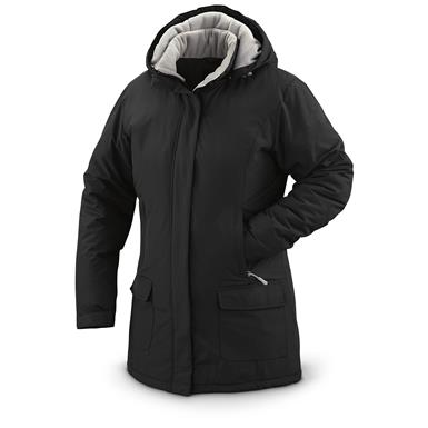 Guide Gear Women's Cascade Parka, Fleece-Lined, Black