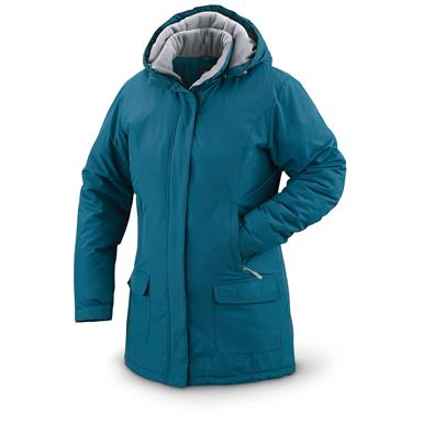 Guide Gear Women's Cascade Parka, Fleece-Lined, Legion Blue