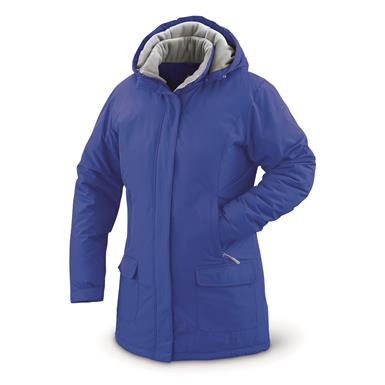 Guide Gear Women's Cascade Fleece Lined Parka, Dazzling Blue