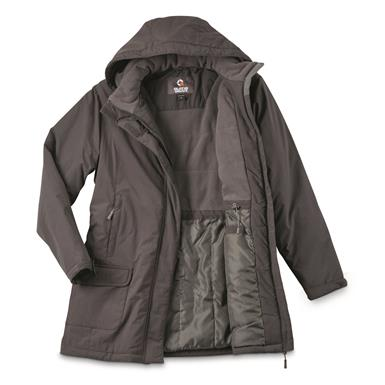 Guide Gear Women's Cascade Fleece Lined Parka, Asphalt