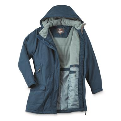 Guide Gear Women's Cascade Fleece Lined Parka, Slate Blue