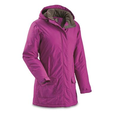 Guide Gear Women's Cascade Parka, Fleece-Lined, Clover