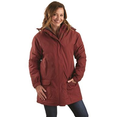 Guide Gear Women's Cascade Fleece Lined Parka, Syrah