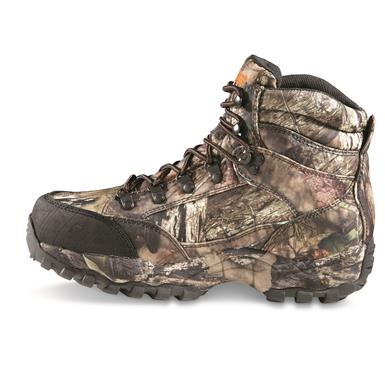 EVA midsole helps absorb shock and provides comfort, Mossy Oak Break-up Country