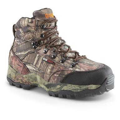 "Guide Gear Men's Guidelight II 6"" Insulated Waterproof Hunting Boots, Mossy Oak Break-Up Infinity¿¿"