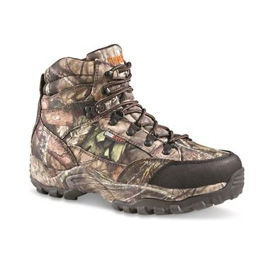 "Guide Gear Men's Guidelight II 6"" Insulated Waterproof Hunting Boots, Mossy Oak Break-Up Country"