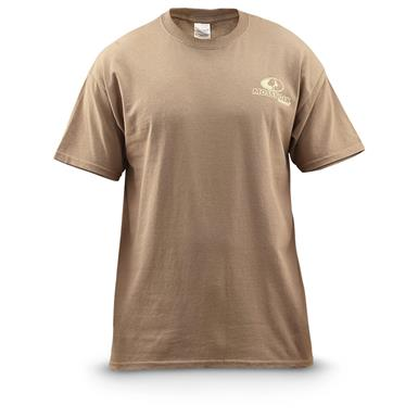 Mossy Oak® Standing Proud Short-sleeved T-shirt, Savanna