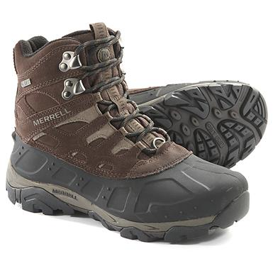 Merrell Men's Moab Polar Hiking Boots, 400 Grams, Espresso