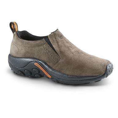 Merrell Men's Jungle Moc Slip On Shoes, Gunsmoke