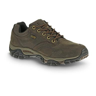 Merrell Men's Moab Rover Waterproof Hiking Shoes, Espresso