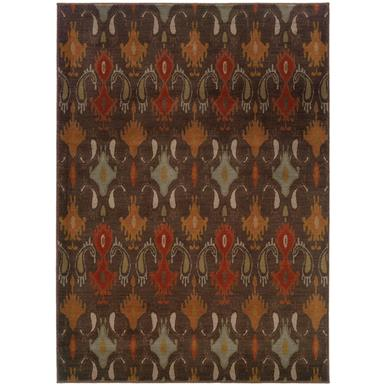 5 foot 3 inch x 7 foot 6 inch Casablanca 4447A Area Rug by Oriental Weavers®