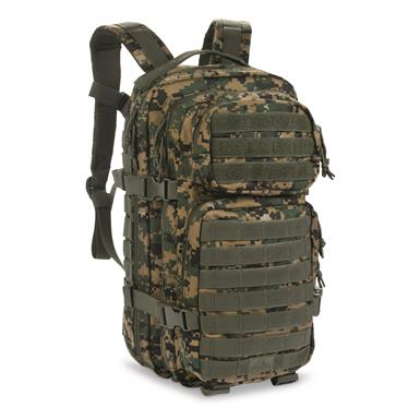 Red Rock Outdoor Gear Assault Pack, Digital Woodland