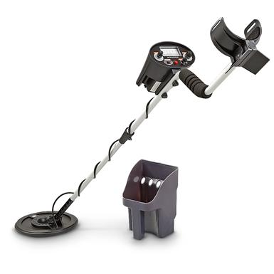 Famous Trails® Challenger Metal Detector Kit • Search for: Coins, Jewelry, Artifacts or Relics