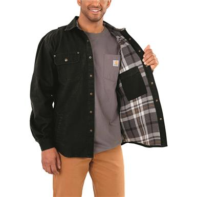 Cotton flannel lining, Black