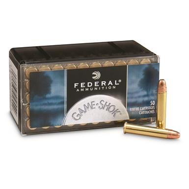 Federal, Premium, Game Shok, .22 Winchester Magnum, JHP, 50 Grain, 50 Rounds