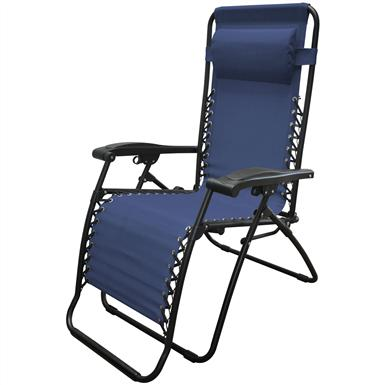 Caravan Sports Infinity Zero Gravity Reclining Lounge Chair, Blue