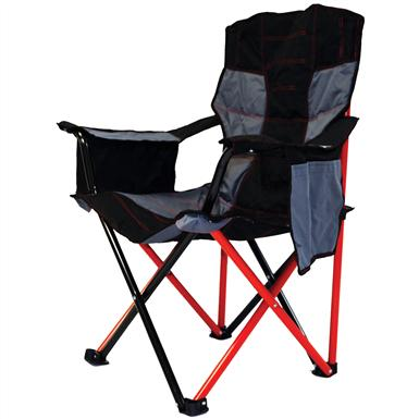 Caravan Sports® Elite Portable Quad Chair, Red