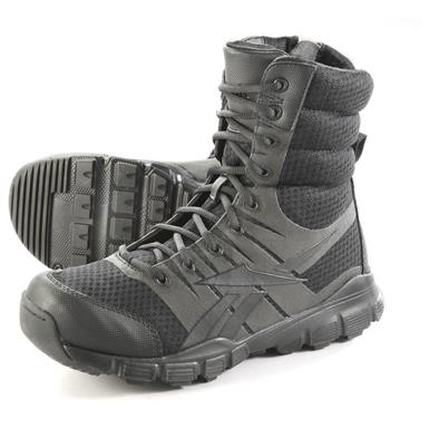 "Reebok Men's 8"" Dauntless Ultra Light Tactical Boots, Black"