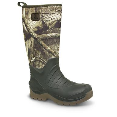 Kamik Men's Elements Hunstman Rubber Boots, Mossy Oak Break-Up Infinity