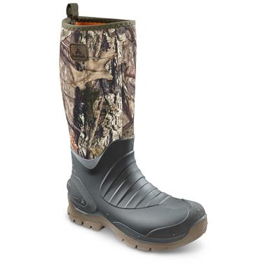 Kamik Men's Elements Bushman Rubber Boots, Mossy Oak Country