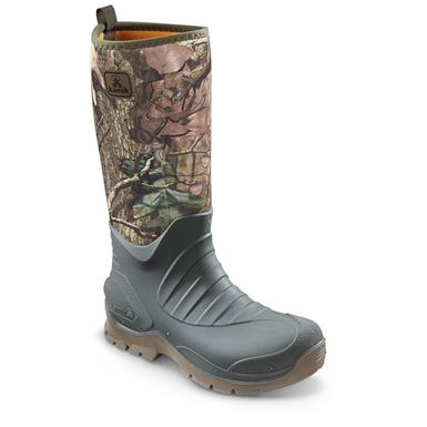 Kamik Men's Elements Bushman Rubber Boots, Realtree Xtra
