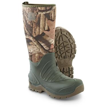 Kamik Men's Elements Bushman Rubber Boots, Mossy Oak Break-Up Infinity