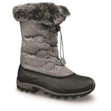 Kamik Women's Momentum Winter Boots, Charcoal
