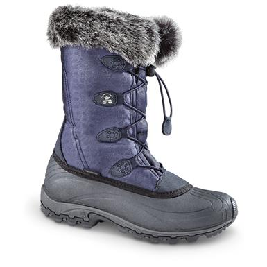Kamik Women's Momentum Winter Boots, Navy
