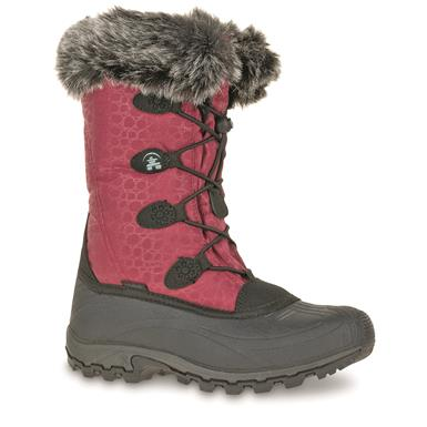 Kamik Women's Momentum Winter Boots, Burgundy
