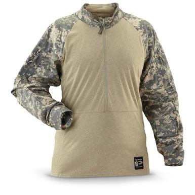 U.S. Military Surplus Nomex Combat Long-Sleeve Shirt, New, Army Digital