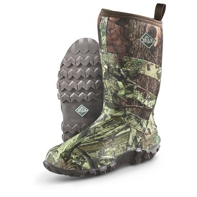 Muck Boots Men's Pursuit Fieldrunner Hunting Boots, Mossy Oak Break-Up Infinity