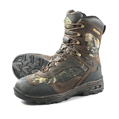 "Wood N' Stream Maniac 8"" Insulated Hunting Boots, 400 Grams, Mossy Oak Break-Up Infinity, Mossy Oak® Break-Up Infinity®"