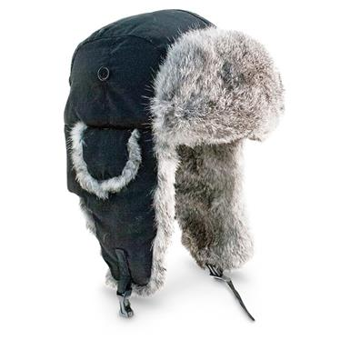 Yukon Tracks Original Alaskan Hat, Black
