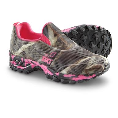Realtree Women's Girl Mamba Athletic Shoes, Hot Pink/Xtra Green
