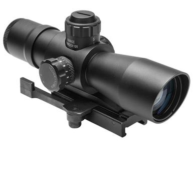 NcSTAR® Zombie Stryke 4x32 Compact Rifle Scope