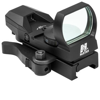 NcSTAR 4 Reticle Reflex Sight with Quick Release